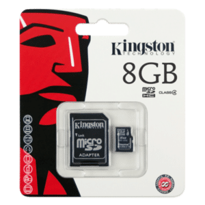 Kingston Micro SD SDHC Memory Card Class 4 8GB