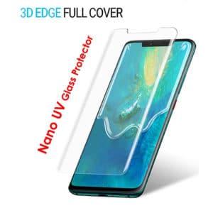Huawei Mate 20 Pro Full 5D UV Glue Tempered Glass