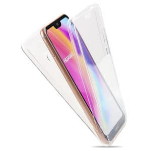 Huawei P20 Lite 360º PC & TPU Full Case With Protective Screen Cover