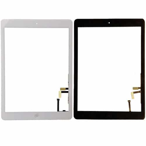 iPad Air Replacement Glass Touchscreen Digitizer With Home Button & Flex Cable