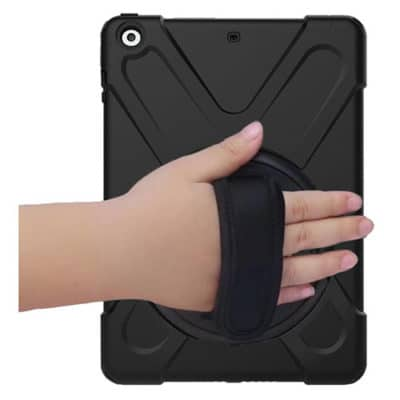 iPad Mini 1/2/3 Heavy Duty Shockproof Case With Swivel Stand & Strap