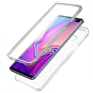Samsung Galaxy S10 Plus 360º PC & TPU Full Case With Protective Screen Cover