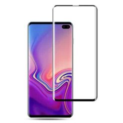 Samsung Galaxy S10 Plus Case Friendly Full Tempered Glass Screen Protector