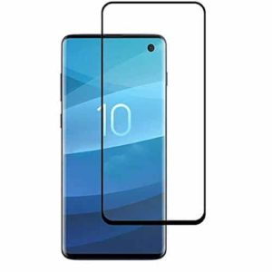 Samsung Galaxy S10 Case Friendly Full Tempered Glass Screen Protector
