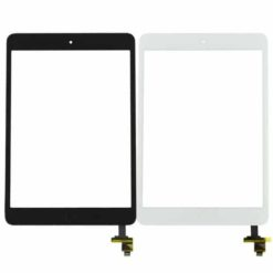 iPad Mini / Mini 2 Replacement Glass Touchscreen Digitizer With Home Button & Flex Cable