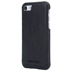 Pierre Cardin Genuine Leather Hard Back Cover / Case - iPhone 7 / 8