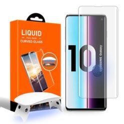 Samsung Galaxy S10 Full 5D UV Glue Tempered Glass