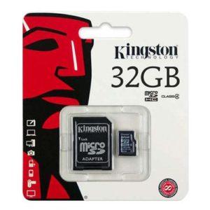 Kingston Micro SD SDHC Memory Card Class 4 32GB