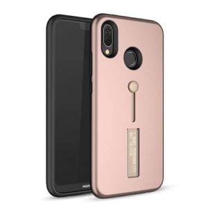 Huawei P Smart Dual-Layer Shockproof Finger Strap Stand Case