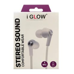 iGlow High Quality Stereo In-Ear Handsfree