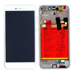 Genuine Huawei P8 Lite 2017 PRA-L21 LCD Screen & Touch Digitiser With Frame & Battery - 14 Day