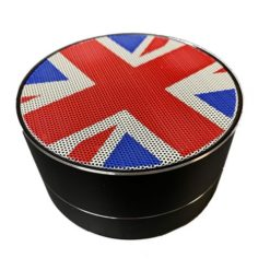 Union Jack Mini Portable Bluetooth Wireless Speaker