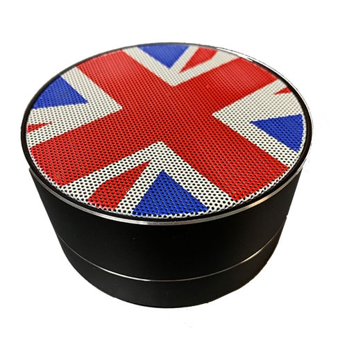Union Jack Mini Portable Bluetooth Wireless Speaker