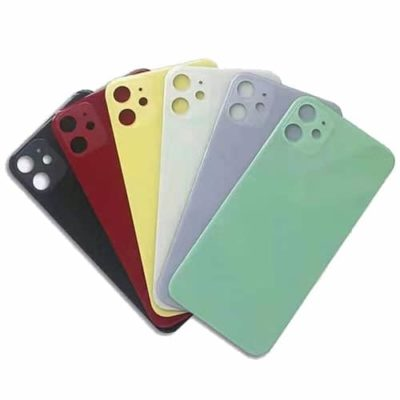 iPhone 11 Rear Back Glass / Battery Cover With Camera Lens & Fixing Frame