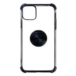 iPhone Shockproof Corner Absorbent TPU Gel Case With Ring Stand