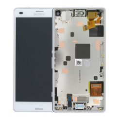Genuine Sony Xperia Z3 Compact LCD Screen & Touch Digitiser With Frame - 14 Day