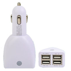 5.5A 4 Port USB Car Charger