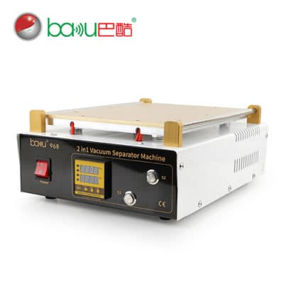 BAKU BK-968D Large LCD Separating Machine With Hot Plate & Suction