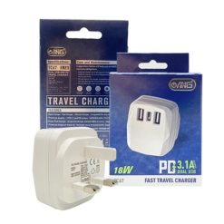 ANG TC67 3.1A Dual USB & Type-C PD Fast Charger