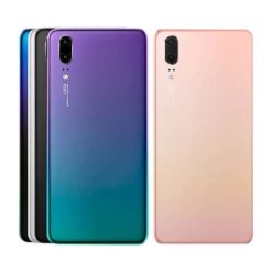 Genuine Huawei P20 Rear Back Glass / Battery Cover With Camera Lens & Flash Cover - 14 Day