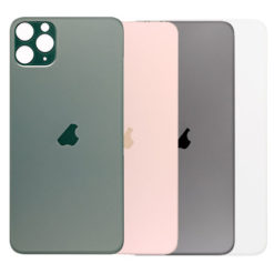 iPhone 11 Pro Max Rear Back Glass / Battery Cover – Big Camera Hole – Easy Fitting