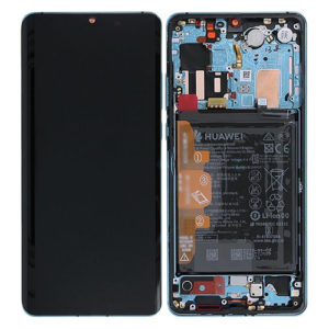 Genuine Huawei P30 Pro LCD Screen & Touch Digitiser With Frame & Battery