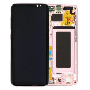 Genuine Samsung G950 Galaxy S8 LCD Screen & Touch Digitiser - Pink