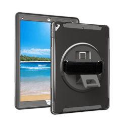 iPad Pro 10.2 7th Gen Heavy Duty Shockproof Case With Swivel Stand & Strap