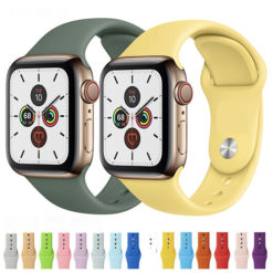 Apple Watch Silicone Sport Strap Band 38mm - 44mm