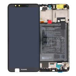 Genuine Huawei Y9 2018 LCD Screen & Touch Digitiser With Frame & Battery - Black
