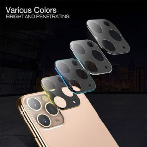 iPhone 11 Camera Lens & Surround Coloured Tempered Glass Protector