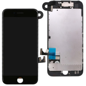 iPhone 7 LCD Screen & Touch Digitiser Full Assembly With Front Camera - Black