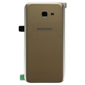 Genuine Samsung A520 Galaxy A5 2017 Rear Back Glass / Battery Cover With Camera Lens - Gold
