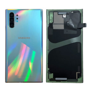 Genuine Samsung N975 Galaxy Note 10 Plus Rear Back Glass / Battery Cover - Aurora Glow