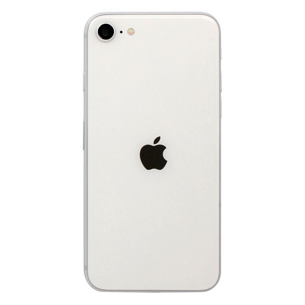 Genuine iPhone SE 2020 Rear Housing With Parts - White - 14 Day