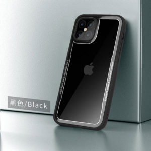 G-Case iPhone 12 Series Crystal Series Glass Premium Case - Black