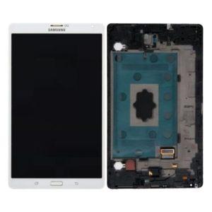 Genuine Samsung T705 Galaxy Tab S 8.4 LCD Screen & Touch Digitiser - White