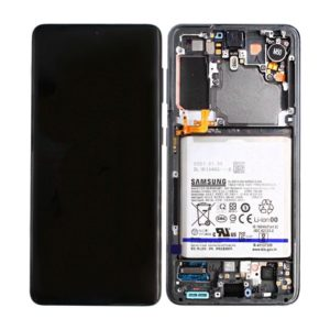 Genuine Samsung G991B Galaxy S21 5G LCD Screen & Touch Digitiser - Grey