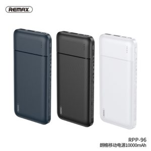 REMAX RPP-96 10000mAh Twin USB Portable Power Bank Charger