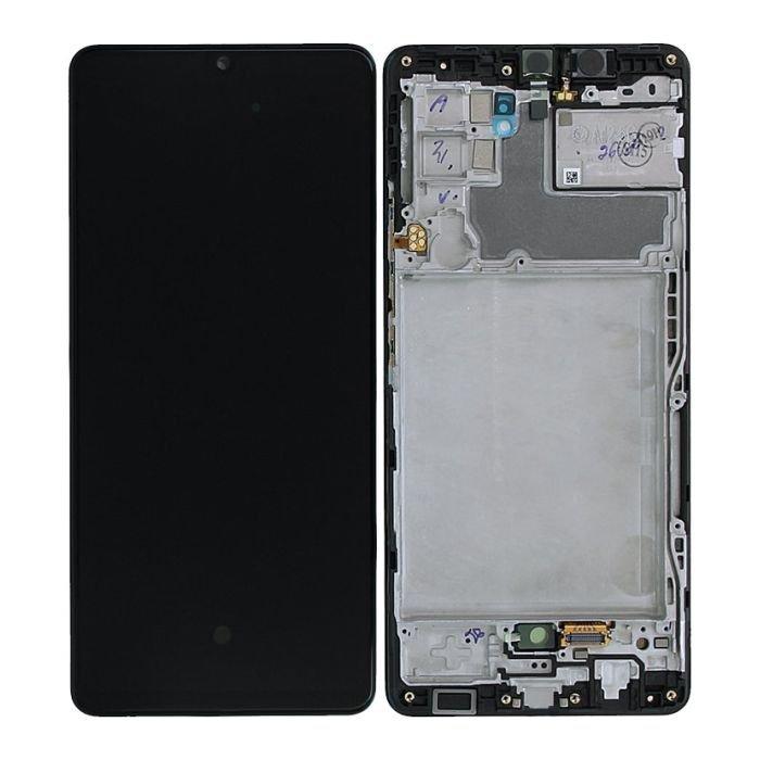 Genuine Samsung A426B Galaxy A42 5G LCD Screen & Touch Digitiser On Frame