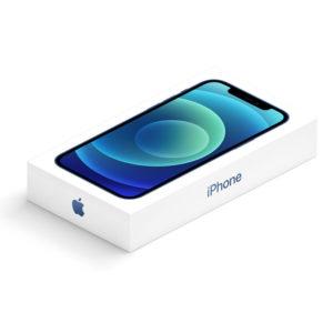 iPhone 12 Empty Phone Box Slim Version