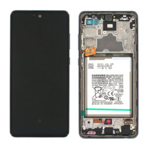 Genuine Samsung A725 Galaxy A72 LCD Screen & Touch Digitiser - Awesome Black