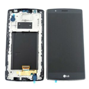 Genuine LG G4 H815 LCD Screen & Touch Digitiser With Frame - Black