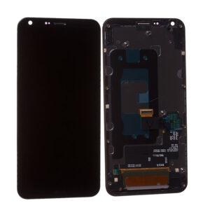 Genuine LG Q6 M700N LCD Screen & Touch Digitiser With Frame – Black