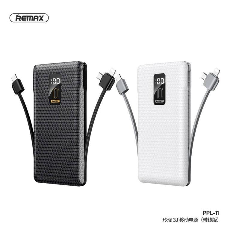 REMAX PPL-11 10000mAh Linon Series USB Portable Power Bank Charger