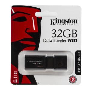 Kingston DataTraveler 100 32GB USB 3.2 Flash Stick Pen Memory Drive