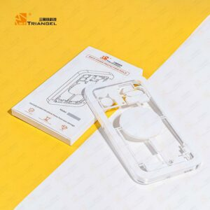 M-Triangel Back Glass Laser Guard Protection Mould For iPhone Models
